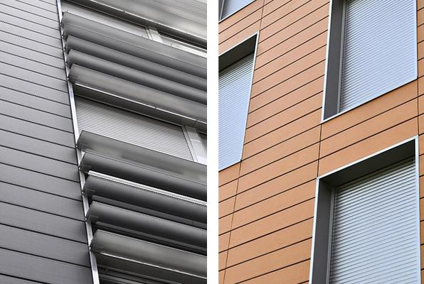 Materiales para fachadas exteriores fachada ventilada - Materiales para fachadas exteriores ...