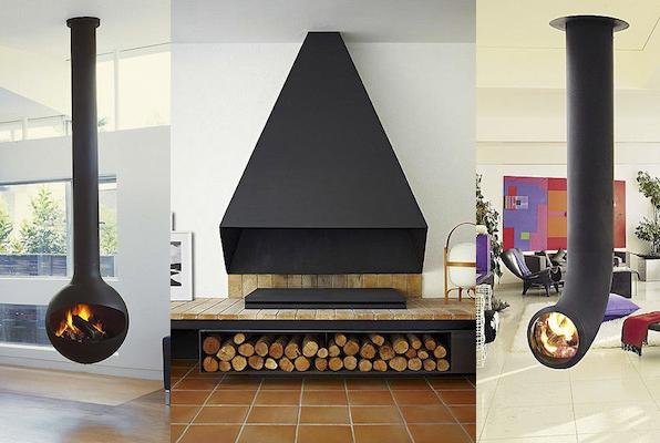 Blog de modus vivendi llega el fr o las mejores chimeneas - Chimeneas decoracion modernas ...