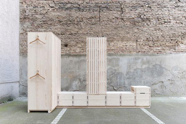 SEBASTIAN ERAZO MODULAR FURNITURE PHOTO BY BRUNO GILIBERTO EN MODUSVIVENDI mobiliario modular