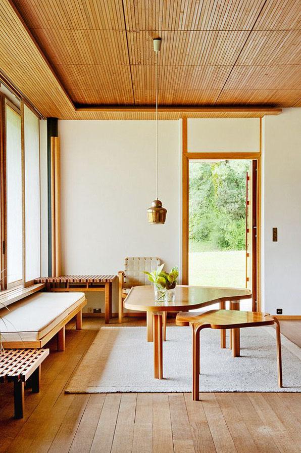 alvar aalto interior design interiorismo wood madera modusvivendi arquitectura arquitectos madrid