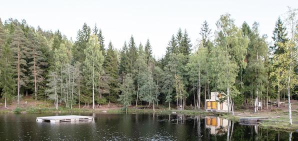 woody cabin prefab modus vivendi arquitectura arquitectos architecture architects cabaña modular madera prefabricada