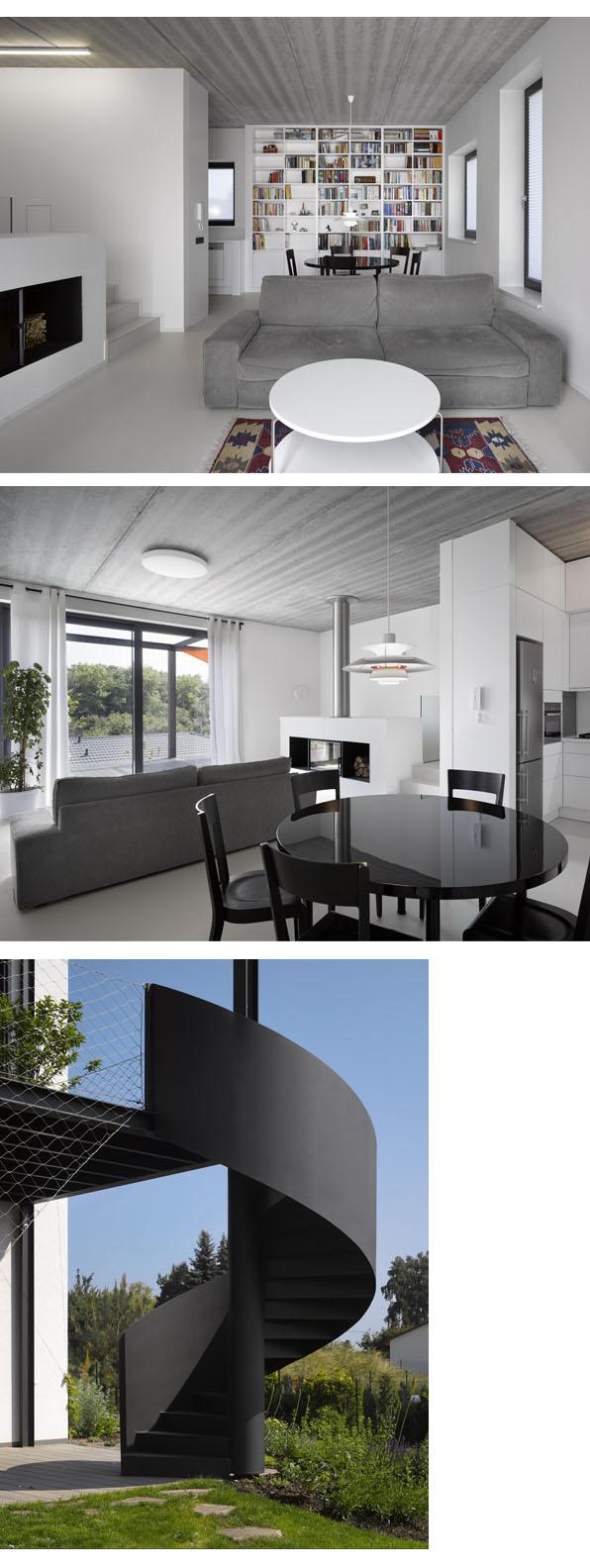stempel tesar family house piloto modus vivendi arquitectura modular prefab architecture interior design