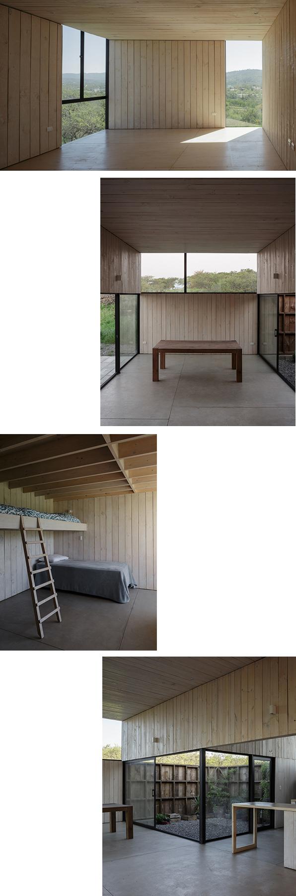 cml torrejon chadwick en modusvivendi arquitectura architecture prefab modular wood madera vivienda de 4 alas