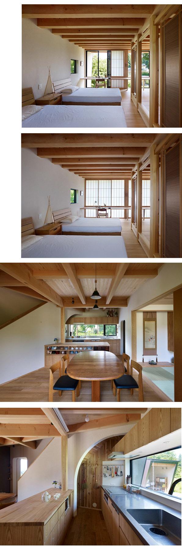 yatsugatake by MDS modular prefab en modus-vivendi arquitectura architecture japan japon casa abanico alps fan house